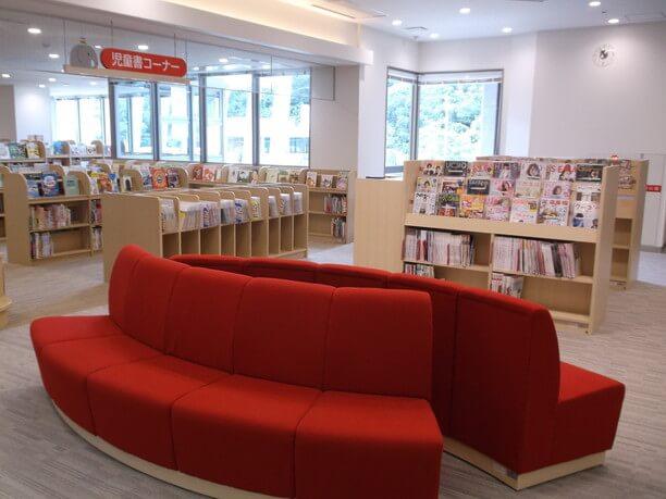book corner provided
