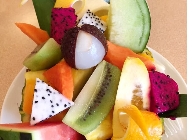 fruit board.