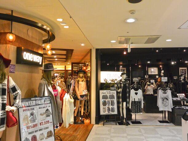 人気ブランドが地下2階から8階までずらりと並ぶSHIBUYA109