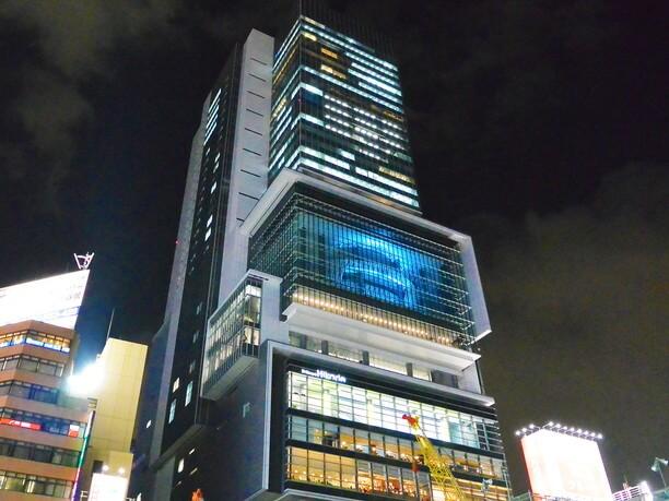 2012年にオープンした新しい渋谷の顔