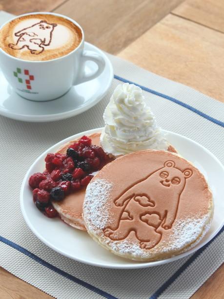 cappuccino&pancake