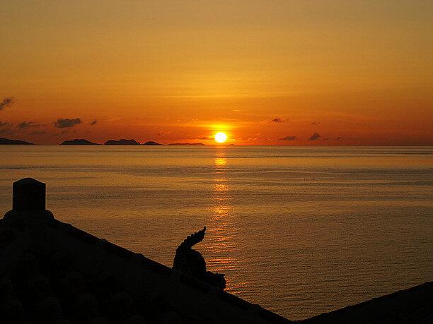 enjoyable at sunset