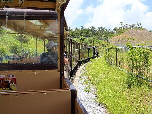 D-51型蒸気機関車を2分の1のサイズで再現した電気機関車