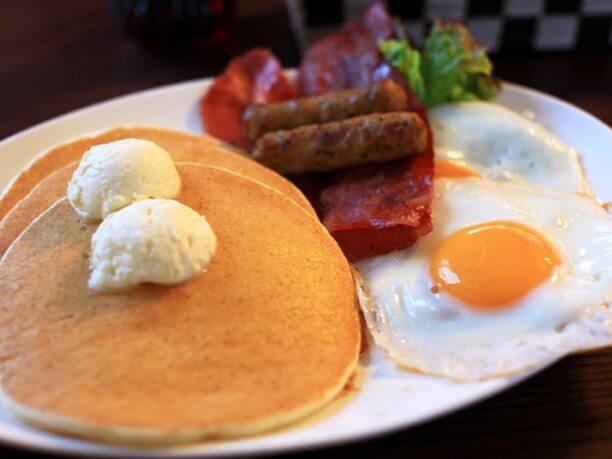Pancake house Yakke booth