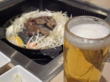 beer and jingisukan
