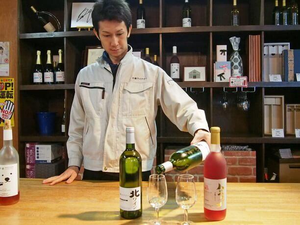 wine wo sosogu