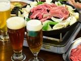 jingisukan and beer